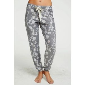 Chaser Cozy Knit Seamed Slouchy Joggers Sweatpants